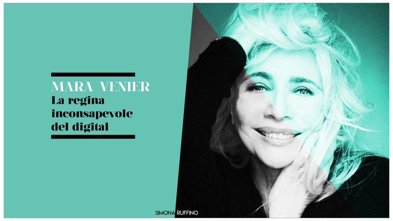 Mara Venier-la regina inconsapevole del digital